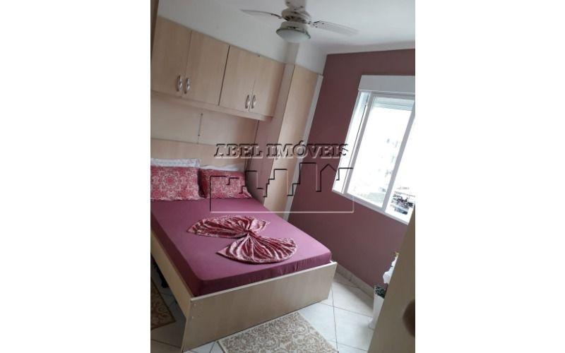 Apartamento 2 dormitórios, sala, cozinha, banheiro e área de serviço no Centro de São Vicente