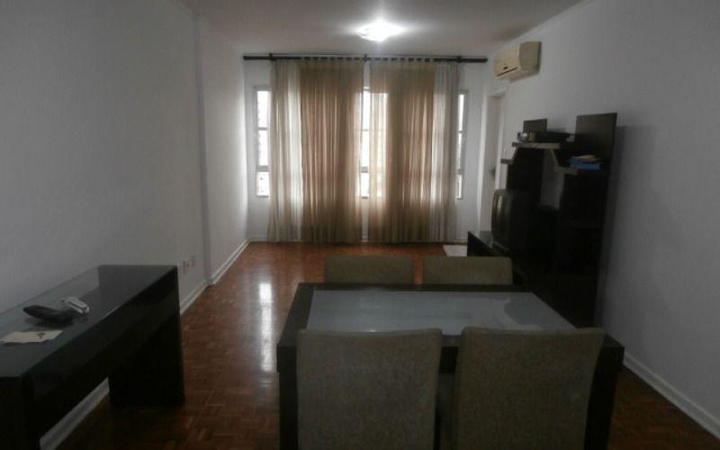 Apartamento 3 dormitórios, sala 2 ambientes, cozinha, banheiro e área de serviço no Itararé em São Vicente