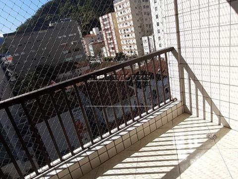 Apartamento 2 dormitórios, sendo 1 suíte, sala 2 ambientes, cozinha, 3 banheiros e área de serviço no Itararé em São Vicente