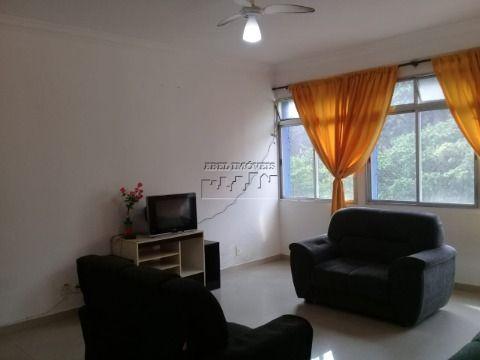 Apartamento 3 dormitórios sendo 1 suíte, sala 3 ambientes, cozinha, banheiros, área de serviço no Itararé em São Vicente