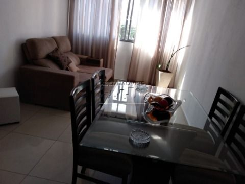 Apartamento 3 dormitórios sendo 1 suíte, sala 2 ambientes, cozinha, banheiro e área de serviço no Itararé em São Vicente