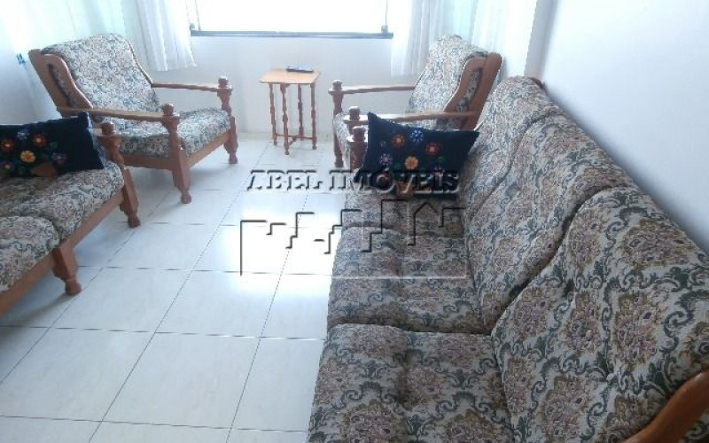 Apartamento com 01 dormitório no Ilha Porchat em São Vicente