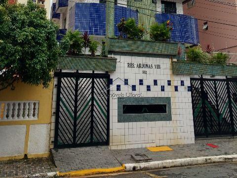 Apartamento 1 Dormitório na Vila Tupi em Praia Grande - SP