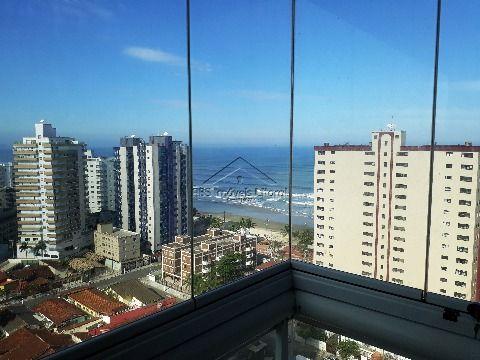 Apartamento de 2 dormitórios em Vila Caiçara na Praia Grande