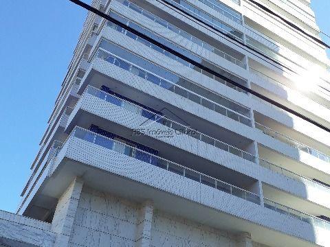 Aparatamento de 3 dormitórios ENTRADA DE R$205.000,00 no Campo da Aviação em Praia Grande
