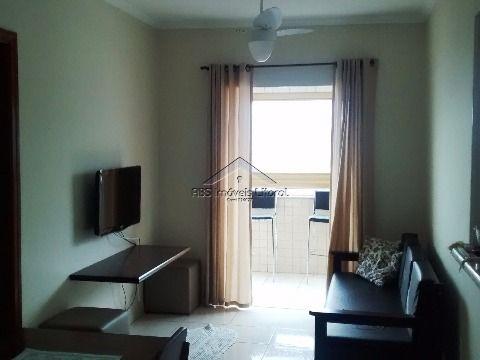 Apartamento de 1 dormitório suite na Vila Caiçara em Praia Grande