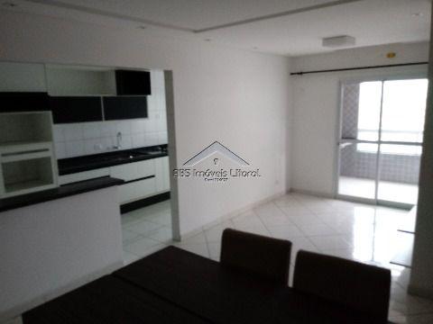 Apartamento 3 dormitórios 2 suítes decorado na Ocian em Praia Grande