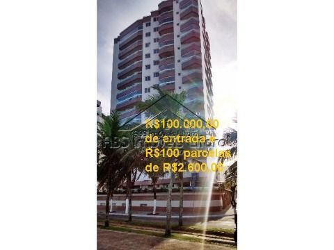 Apartamento na Vila Caiçara em Praia Grande ( financiamento direto, entrada de R$ 100.000,00 )