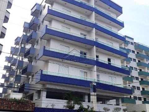 Apartamento de 1 dormitorio na Vila Mirim em Praia Grande