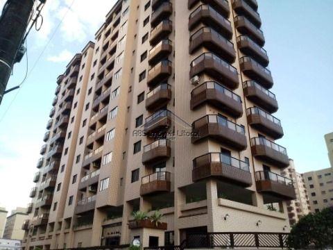 Apartamento mobiliado com 2 dormitórios e 1 suíte na Vila Caiçara em Praia Grande