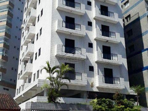 Apartamento de 1 Dormitório na Vila Caiçara  Praia Grande - SP