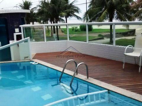 Apartamento Frente Mar 1 Dormitório no Maracanã na Praia Grande