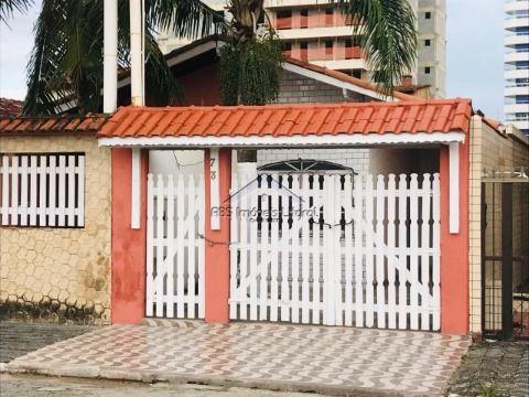 Casa 2 Dormitórios na Vila Caçara em Praia Grande - SP