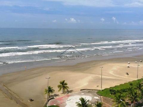 Apartamento Frente Mar 1 Dormitório com suíte no Maracanã na Praia Grande