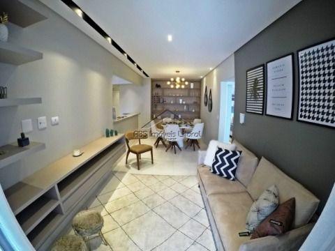 Apartamento Novo de 2 suítes na Vila Tupi em Praia Grande