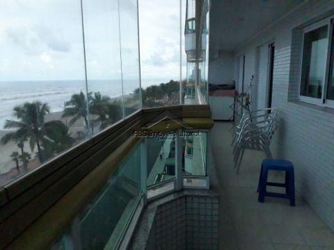 Apartamento Pé ma Areia de 2 Dormitórios em Vila Caiçara - Praia Grande