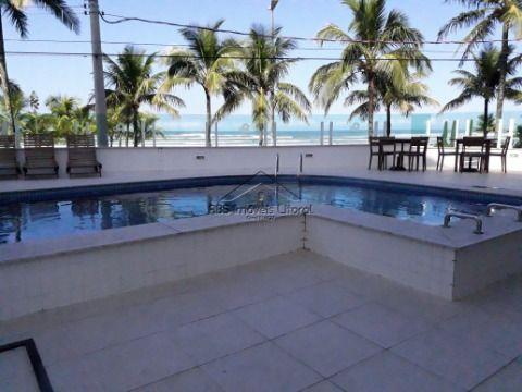 Apartamento de 3 dormitórios 1 suíte no Florida em Praia Grande
