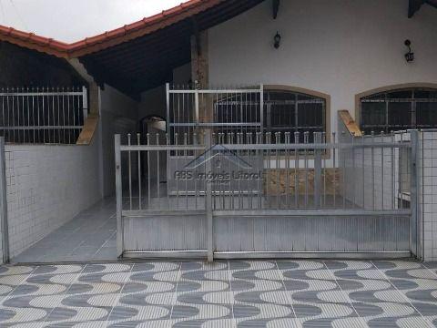 Casa com 2 dormitórios no Jardim Imperador em Praia Grande