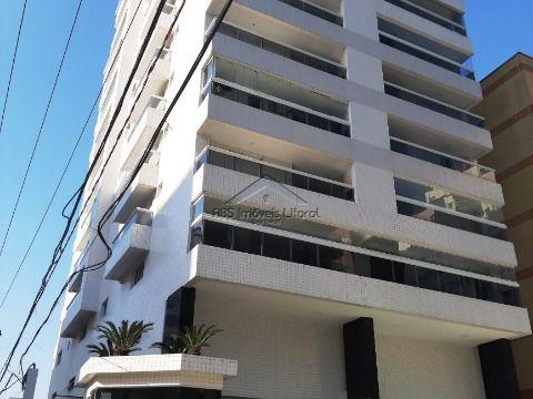 Lindo apartamento com 1 dormitório na Ocian em Praia Grande ( entrada
