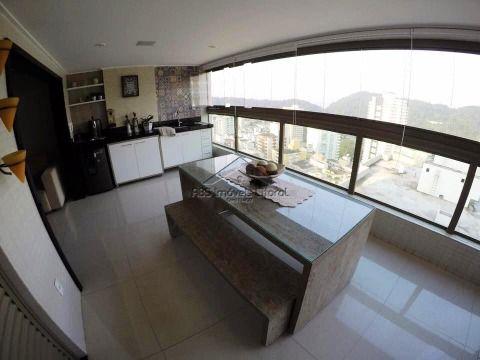 Apartamento alto padrão no Canto do Forte Praia Grande - SP