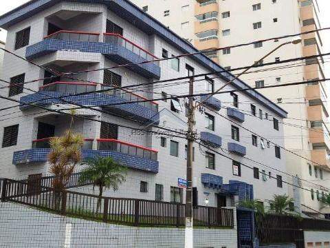 Apartamento de 1 dormitório no Campo da Aviação em Praia Grande