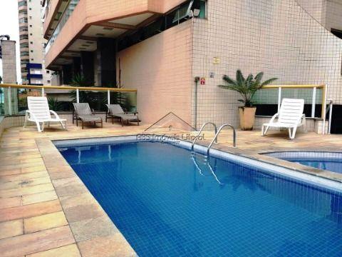 Lindo apartamento de 2 dormitórios com 2 suítes na Aviação em Praia Grande SP