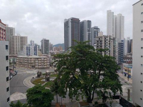 Apartamento com 3 dormitórios na Vila Guilhermina na Praia Grande - SP