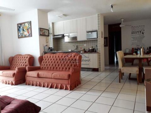 Apartamento Frente Mar de 2 dormitórios na Vila Caiçara em Praia Grande