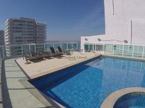 Apartamento de 2 dormitórios  no Campo da Aviação em Praia Grande