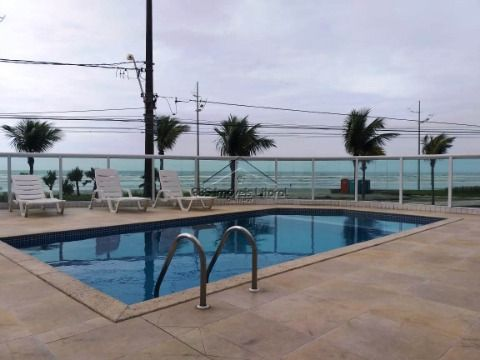 Apartamento 1 dormitório sacada gourmet na Vila Caiçara na Praia Grande