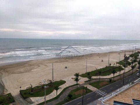 Apartamento 1 dormitório com vista mar na Vila Caiçara na Praia Grande