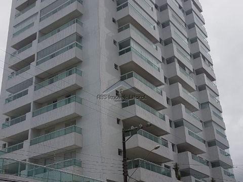 Apartamento de 2 dormitórios 2 suítes com lavabo no Caiçara em Praia Grande