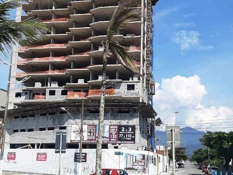 Apartamento novo Frente Mar 3 dormitórios no Maracanã em Praia Grande (ENTRADA DE R$ 59.869,80)