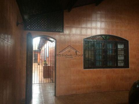 Casa 2 Dormitórios na Vila Caiçara em Praia Grande-SP