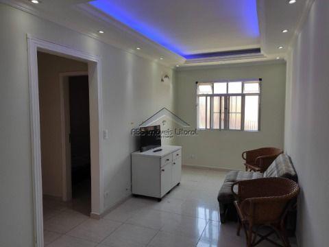 Apartamento reformado de 1 Dormitório na Ocian em Praia Grande
