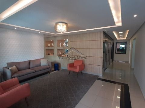 Apartamento de 2 dormitórios na Vila Guilhermina na Praia Grande