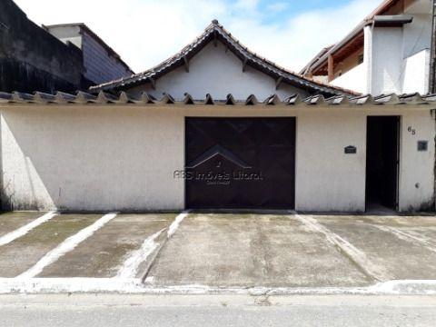 Casa isolada 3 Dormitórios na Vila Mirim em Praia Grande-SP