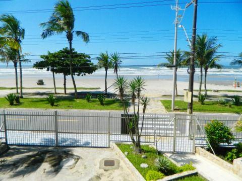 Apartamento Pé na Areia 2 dormitórios em Praia Grande-SP