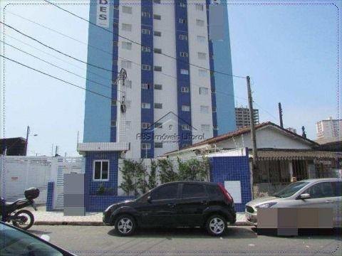 Apartamento 2 dormitórios na Vila Caiçara na Praia Grande - SP