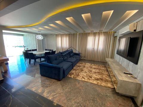 Cobertura 3 dormitórios na Aviação em Praia Grande - SP