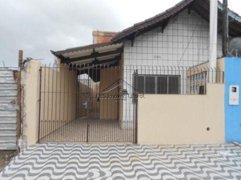 Casa com 1 dormitório na Vila Tupi em Praia Grande