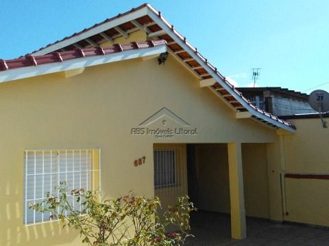 Casa isolada 2 Dormitórios na Vila Mirim em Praia Grande-SP