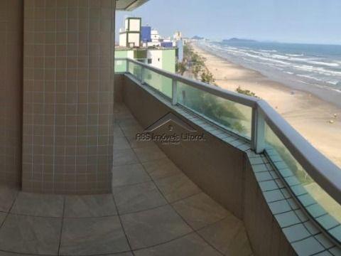 Apartamento Frente ao Mar de 3 Dormitórios na Praia Grande SP
