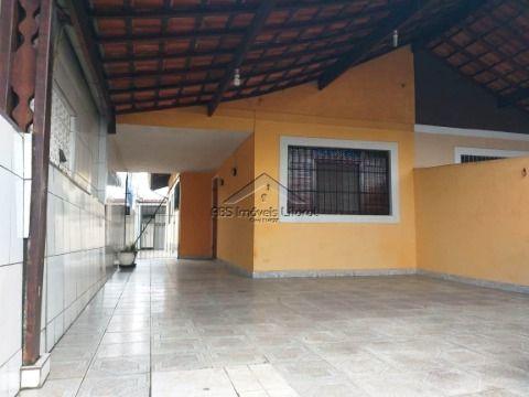 Casa geminada no Maracanã na Praia Grande - SP