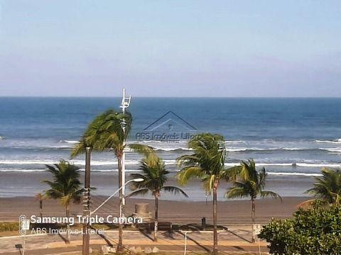 Apartamento de frente ao mar  Jardim Imperador em Praia Grande