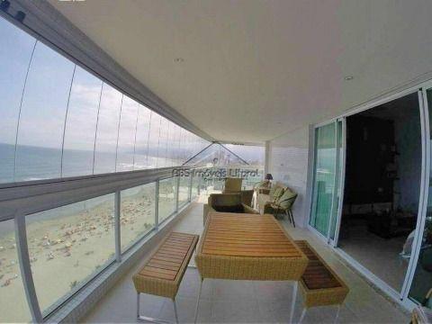 Apartamento Frente Mar no Canto do Forte Praia Grande - SP