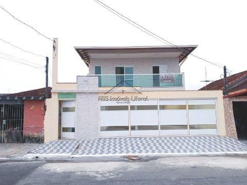 Casa nova na Vila Caiçara em Praia Grande - SP
