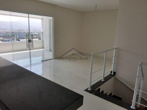 Apartamento 2 dormitórios com suíte na Vila Caiçara na Praia Grande - SP