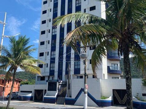 Apartamento 2 dormitório com 1 suite  Pé na Areia no Jd, Solemar em Praia Grande