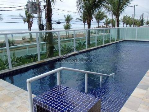 Apartamento 2 Dormitórios e 2 Suites de frente ao mar Vila Caiçara em Praia Grande - SP